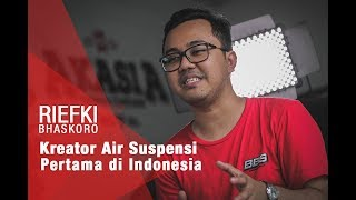 Video Riefki Bhaskoro, Kreator Air Suspensi Pertama di Indonesia download MP3, 3GP, MP4, WEBM, AVI, FLV Oktober 2018