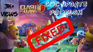 Clash of Clans Th12 update Crashing problem and solution..