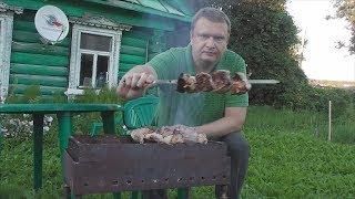 Сочный и вкусный шашлык из свинины, как приготовить, простой рецепт