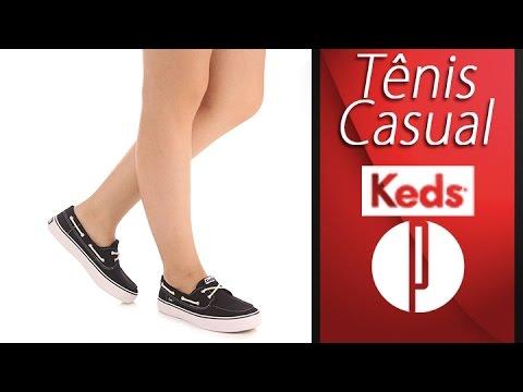 Tênis Casual Feminino Keds Baybird
