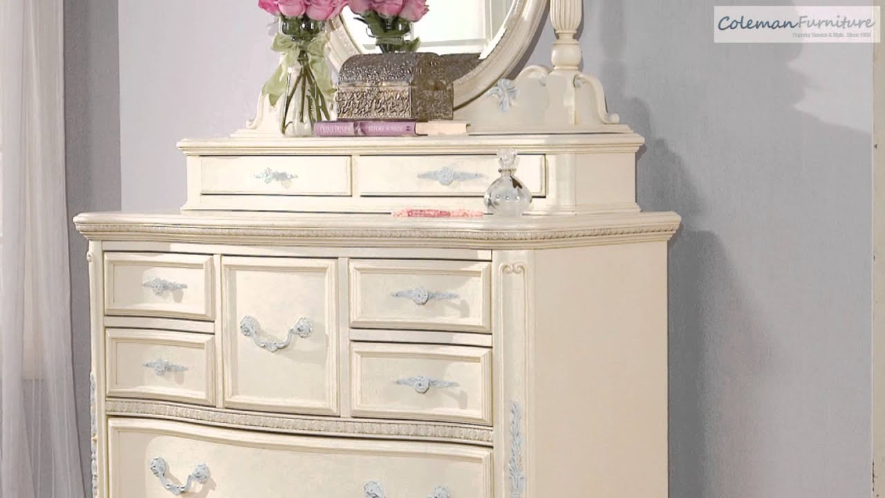 Jessica Mcclintock King Panel Bedroom Collection From Lea Furniture