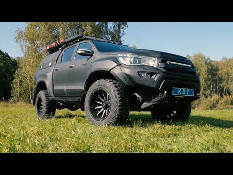 Проект «Катран»: Экспедиционная Toyota Hilux, которая валит как сумасшедшая