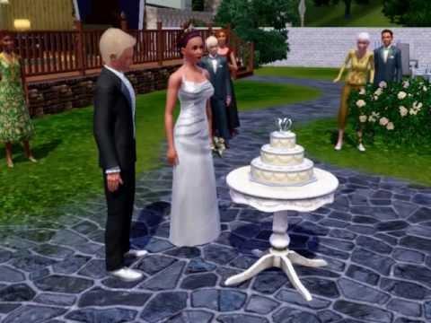 The Perfect Sims 3 Wedding YouTube - Sims 4 Wedding Cake Cheat