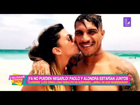 ¡Ya no pueden negarlo!: Paolo Guerrero y Alondra García Miró estarían nuevamente juntos