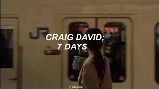 Craig David 7 Days Traducida Al Español