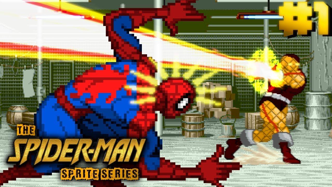 The Spider Man Sprite Series Episode 1 Youtube