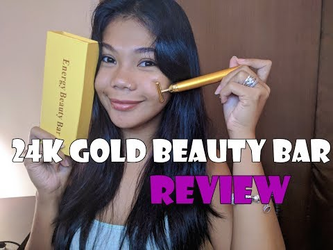24K GOLD FACE MASSAGER REVIEW II Philippines