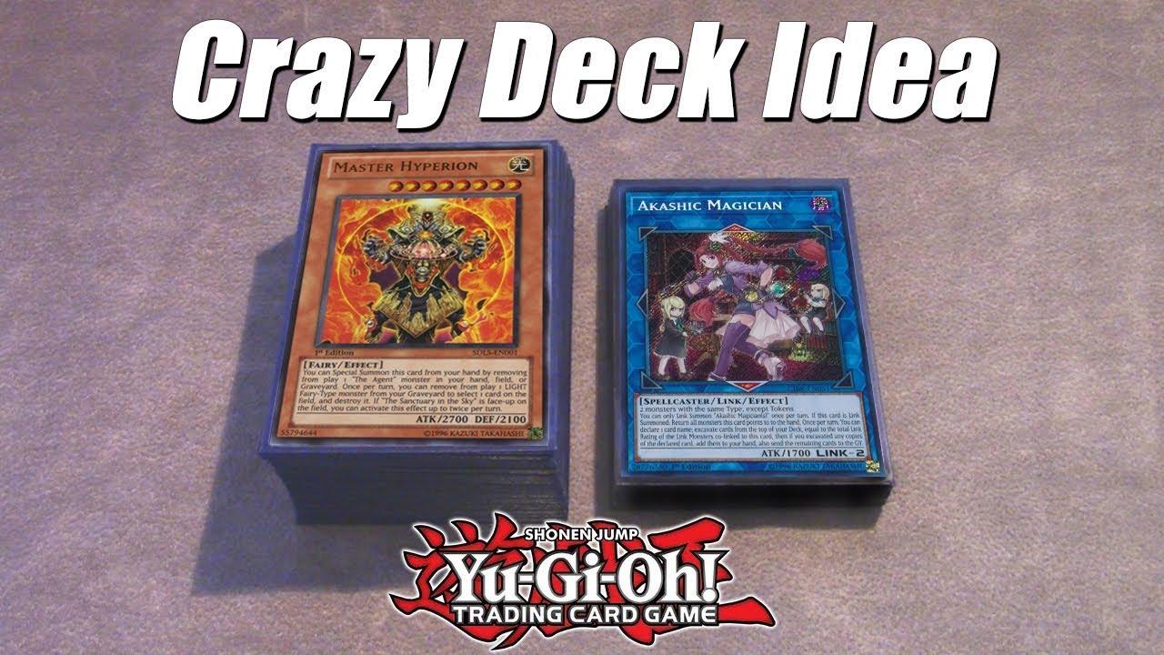 Best Yu Gi Oh! Crazy Deck Idea! Fairy Agent Link Lockdown Deck