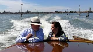 Carlos en Annemarie in Venetië