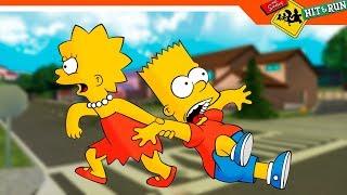 СПАС БАРТА ► Simpsons Hit and Run прохождение