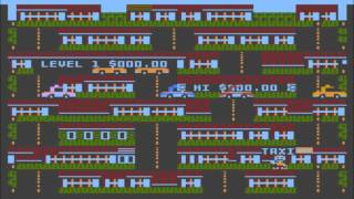 Taxicab Hill for the Atari 8-bit family