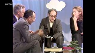 """JEAN-LUC GODARD.""""la télévision l'escroquerie majeur de notre """"époque"""".HD1080p"""