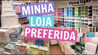 FLYING TIGER: A MINHA LOJA FAVORITA NA EUROPA | Flying Tiger Tour | Lari Torres