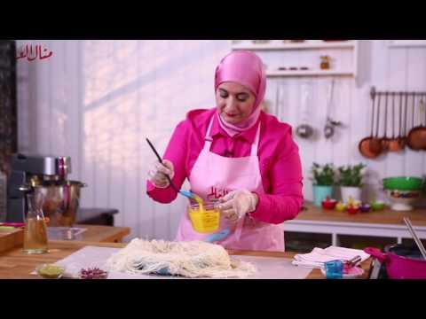 كنافة المقلاة - مطبخ منال العالم