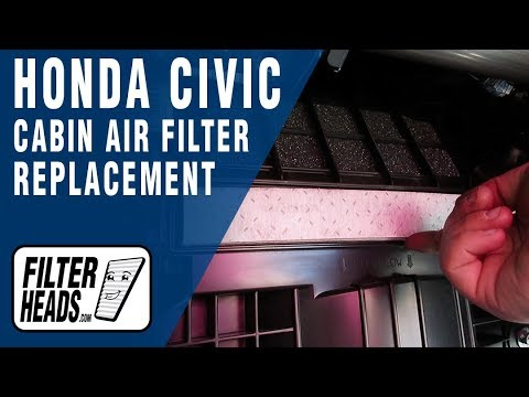 How to Replace Cabin Air Filter Honda Civic