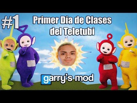 Gmod #1 - PRIMER DÍA DE CLASES DEL TELETUBI