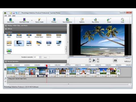 برنامج عمل فيديو احترافي من الصور للكمبيوتر