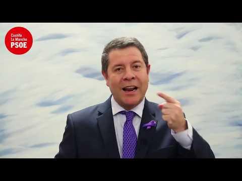 VÍDEO | Palabras de Emiliano García-Page con motivo del Día Internacional de las Mujeres