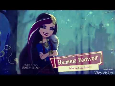 Ever After High Cerise Hood Doll Ramona BadWolf and Cer...