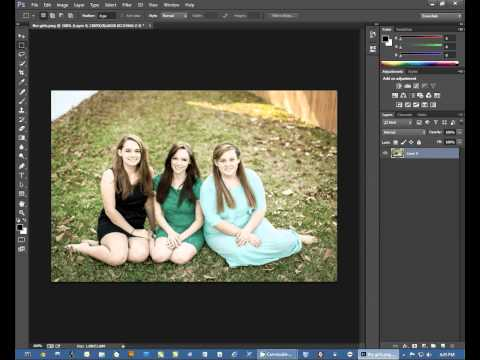Convert a File from CMYK to RGB in PhotoShop -