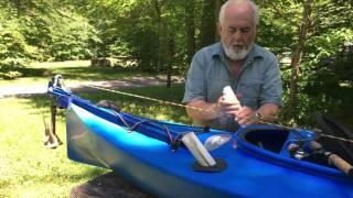 видео Рыболовный каяк