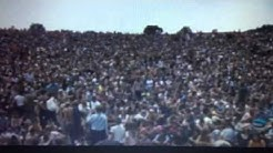 Max Yasgur speaks at Woodstock