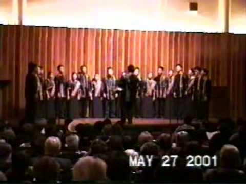 UP Medchoir 2001 US tour - Katakataka (Missouri)
