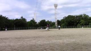 2015年8月23日(日)大森球場 投手は松代大、ドージーズ5回裏の守備を動画...