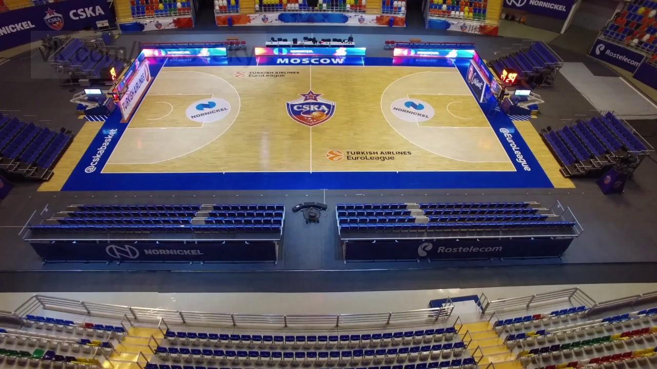 казанский баскет холл схема зала с местами