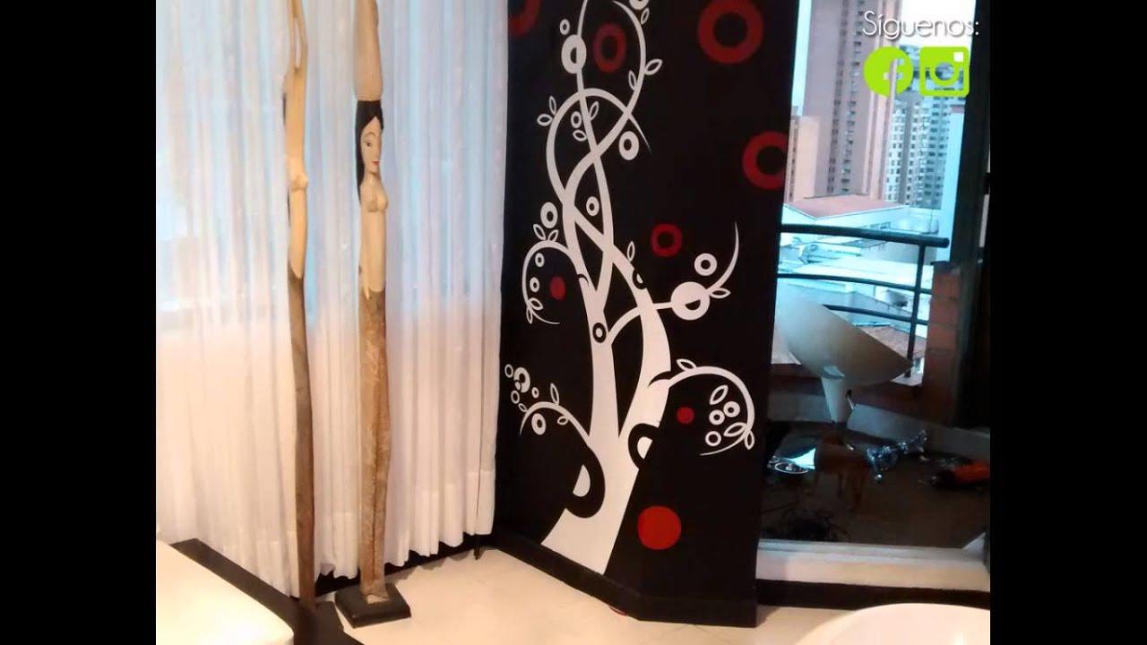 Vinilos decorativos y murales grillo vinilos medellin for Murales decorativos
