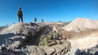 7th Battalion, Royal Australian Regiment Trench Warfare 2015