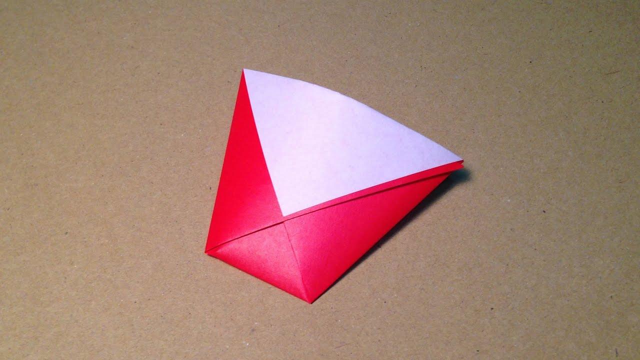 すべての折り紙 折り紙菊の折り方 : ... の折り方 作り方 簡単 - YouTube