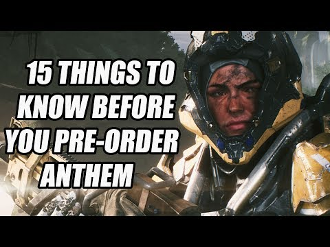 ANTHEM - 15 NEW Things You Need To Know Before You Pre-Order