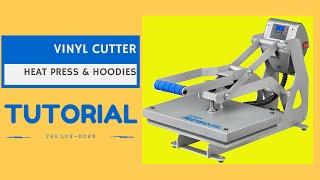 Vinyl Cutter Heat Press And T Shirts Hoodie Printing