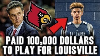 The Story Of How Top High School Player Brian Bowen Received 100,000$ For Attending Louisville
