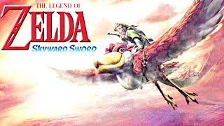 WELCOME TO SKYLOFT:zelda skyward sword part1