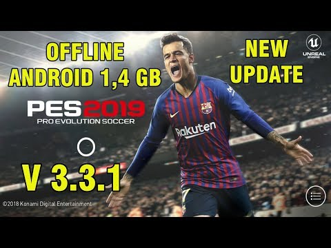 PES 2019 Mobile V3.3.1 Android Offline New Patch Transfers Update + New Kits Best Graphics