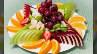 Фруктовая нарезка на праздничный стол Украшение блюд фото
