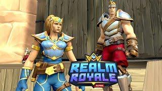 NAJLEPSZY DUET + DIAMENT WBITY! - Hogaty i Sylo - Realm Royale #02