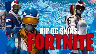 RIP OG SKIN | FORTNITE FUNNY STREAM| ALPINE ACE & MOGUL MASTER| 300+ WINS| SEASON 7 GAMEPLAY