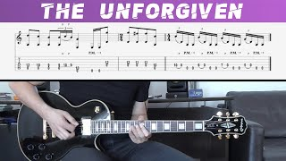 METALLICA - THE UNFORGIVEN (Guitar cover with TAB)
