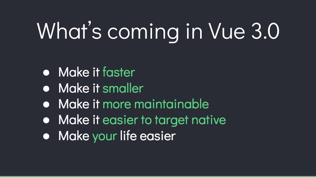 Vue 3.0 Updates with Evan You