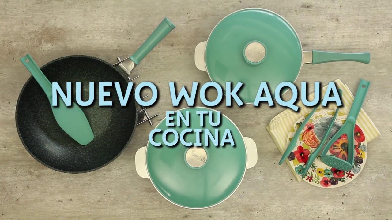 Aqua Essen nuevo wok aqua