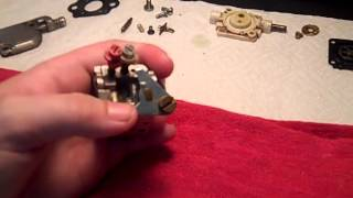 Mantis Tiller Carburetor Throttle Stuck