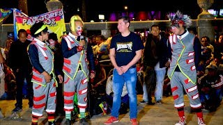 Payasos Pikolin, Kiwi y Stiff recibe a Richard tv en la alameda 4k