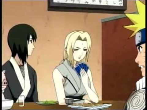 Naruto se quiere comer a Tsunade