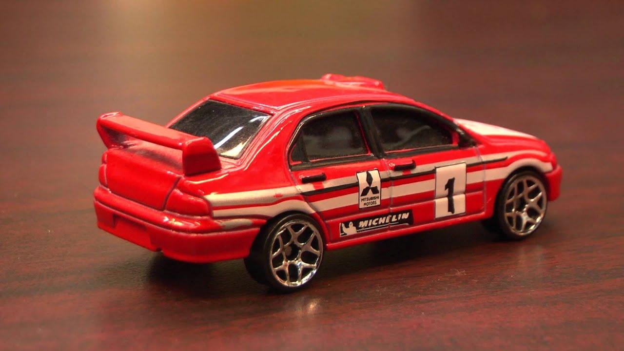 Cgr Garage Mitsubishi Evo Hot Wheels Review Youtube