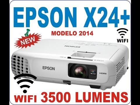EPSON POWERLITE X24 con WIFI 3500 LUMENS 10.000:1 XGA-DIGITALNEX