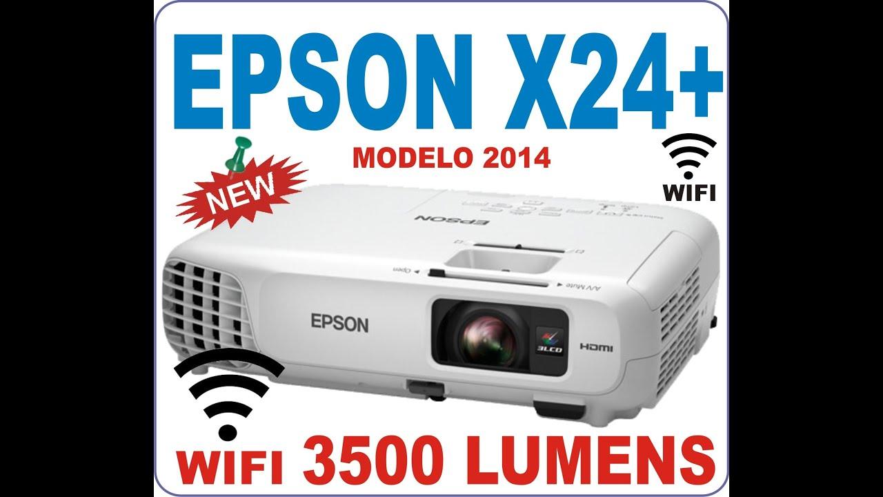 EPSON POWERLITE X24 con WIFI 3500 LUMENS 10.000:1 XGA ...