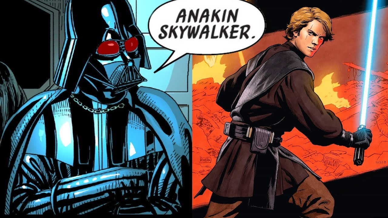 When Darth Vader Revealed Anakin Skywalker during Clone Wars(Canon) - Star Wars Comics Explained